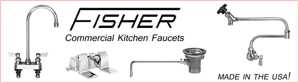 Fisher Commercial Kitchen Faucets